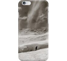 The Lone Boarder iPhone Case/Skin