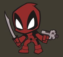Deadpool Chibi Art by everlander
