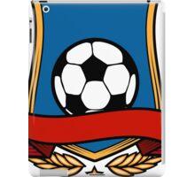 Football Club Emblem iPad Case/Skin
