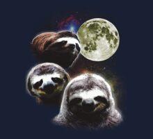 Funny Space Sloths  Kids Tee
