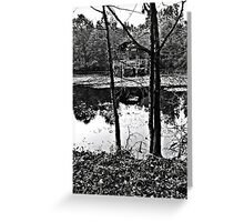 Wood, Air & Water Greeting Card