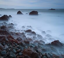 Waves on the Rocks IV. by Rafal Antoniuk