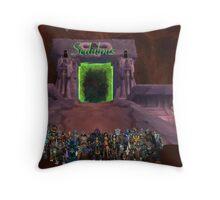 Guild poster (Sedulous Throw Pillow