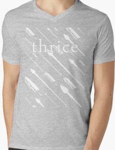 Upon Us (White Variant) Mens V-Neck T-Shirt