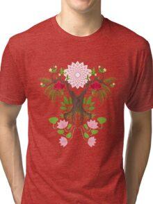 Jungle spirit face Tri-blend T-Shirt