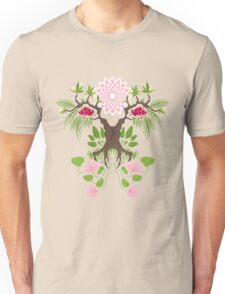Jungle spirit face Unisex T-Shirt