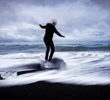 Surfer's Paradise: Glaciers at Joksularon, Iceland by thewaxmuseum