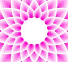 Lotus mandala t-shirt Sticker