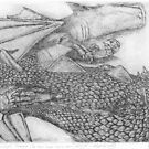 St George's Dragon - At that time there were very few dragons left. by Nestor