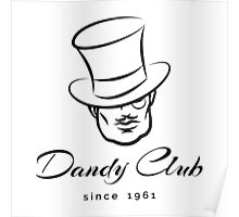 Dandy Club  Logo Poster