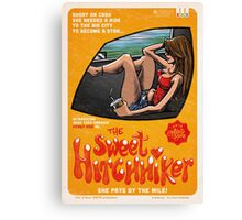Sweet Hitchhiker Canvas Print