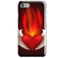 Burning Heart iPhone Case/Skin