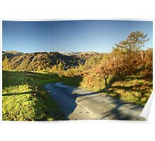 The Road From Tarn Hows Poster