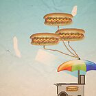 Hot Dog Cart by FinlayMcNevin