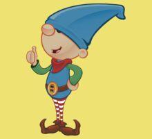 Elf Character - Giving Thumbs Up Baby Tee