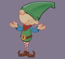 Elf Character - Confused Kids Tee