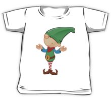 Elf Character - Confused Kids Tee
