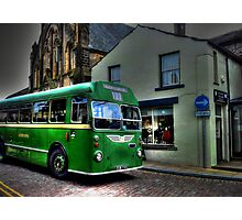 Vintage Bus Photographic Print