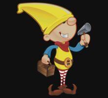 Elf Character - Hammer & Toolbox Kids Clothes