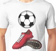 Boots and ball Unisex T-Shirt