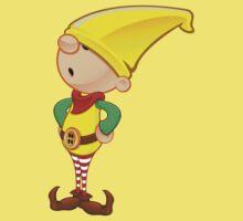 Elf Character - Hands On Hips Baby Tee