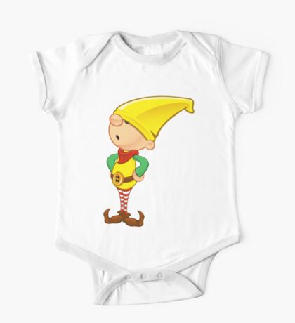 Elf Character - Hands On Hips One Piece - Short Sleeve