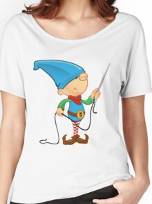 Elf Character - Needle & Thread Women's Relaxed Fit T-Shirt