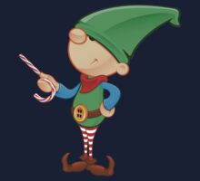 Elf Character - Pointing With Candy Kids Clothes