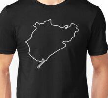 Nürburgring - Nordschleife [outline] Unisex T-Shirt