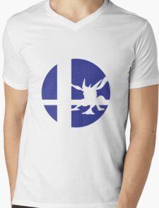 Greninja - Super Smash Bros. Mens V-Neck T-Shirt