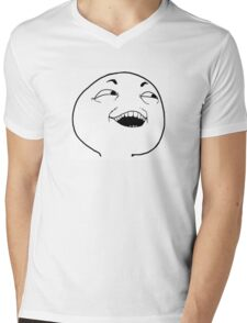 I see what you did there Mens V-Neck T-Shirt