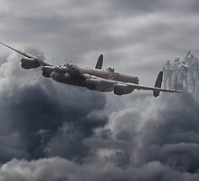 Avro Lancaster - Bomber Command Remembrance by warbirds