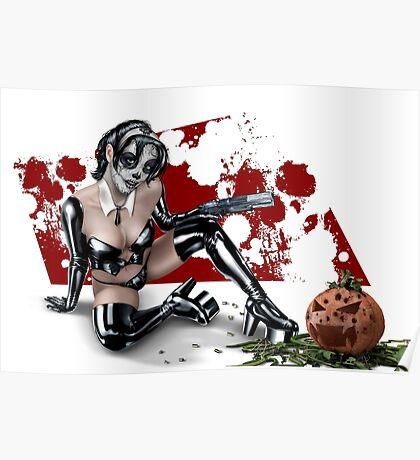 Sugar Skull Assassin Poster