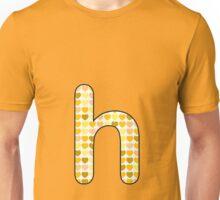 Letter Series - h Unisex T-Shirt