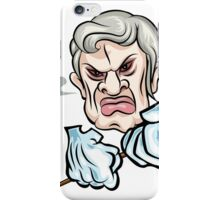 Angry man iPhone Case/Skin