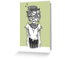 Miss Marple Greeting Card