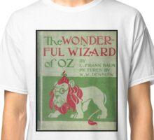 The Wonderful Wizard of Oz Classic T-Shirt