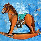 Zombie Rocking Horse by Cantus
