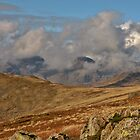 Clouds above the Scafell Range by JDHPhotos