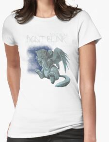 Weeping Kitten Womens Fitted T-Shirt