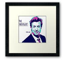 the mentalist-patrick jane Framed Print