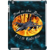 F-16 Bad To The Bone iPad Case/Skin