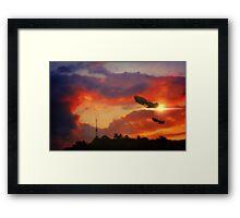 Eve of War Framed Print