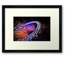 The eye of London a secondary perspective  Framed Print