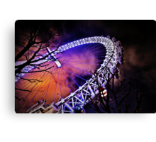 The eye of London a secondary perspective  Canvas Print