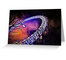 The eye of London a secondary perspective  Greeting Card