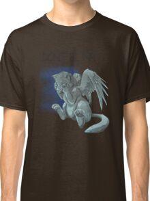 Weeping kitten - Dark Font Classic T-Shirt