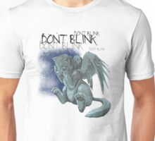 Weeping kitten - Dark Font Unisex T-Shirt