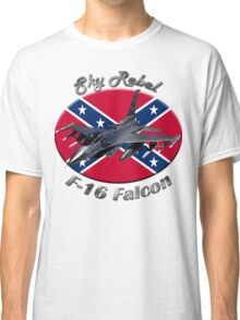 F-16 Falcon Sky Rebel Classic T-Shirt