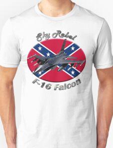F-16 Falcon Sky Rebel T-Shirt